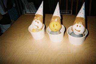 溶けかけのアイスクリーム 台湾のアイスクリーム屋 I'm Talatoの写真・画像素材[2530777]