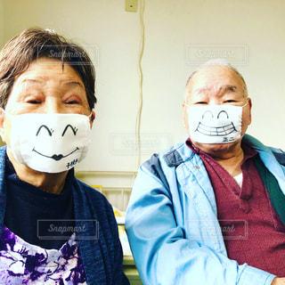 アベのマスクの写真・画像素材[3164677]