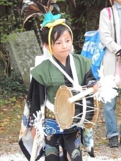 伝統行事 神事 鶏楽の写真・画像素材[2550492]