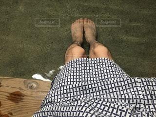 足湯の写真・画像素材[97930]