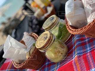picnic breakfastの写真・画像素材[2528583]