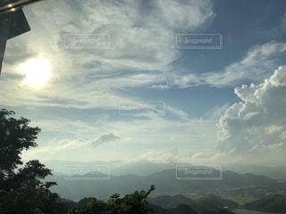空に雲の群しをするの写真・画像素材[2524932]