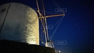 風車のある風景の写真・画像素材[2529095]