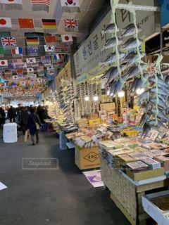 韓国の市場の写真・画像素材[2534452]