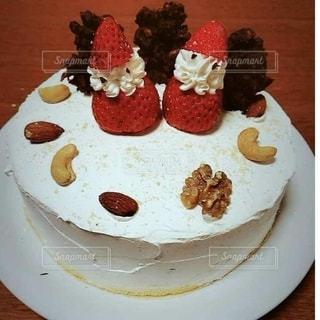 クリスマスケーキの写真・画像素材[2535287]