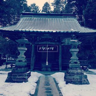 川宿禰神社本殿の写真・画像素材[1374854]