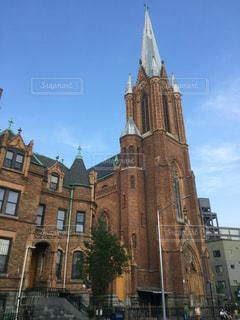 マンハッタンのとある教会の写真・画像素材[2869760]
