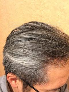 白髪になったね〜の写真・画像素材[2652496]