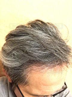 白髪の写真・画像素材[2659433]