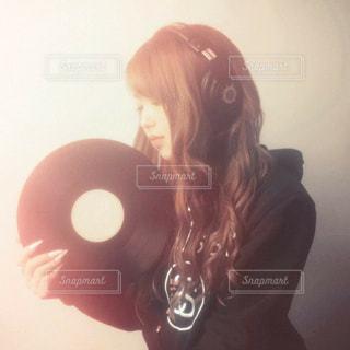 女DJの写真・画像素材[2537626]