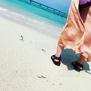 青い空、白い砂浜、宮古島の写真・画像素材[2526808]
