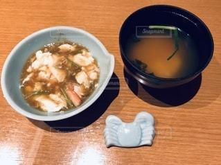 とろりとした豆腐にかに餡掛け。の写真・画像素材[2643048]