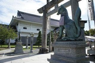 神社の写真・画像素材[100575]