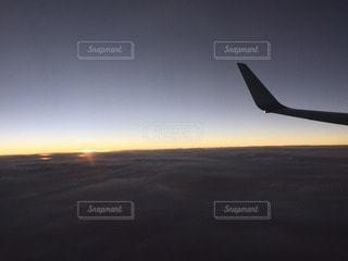 夕日の写真・画像素材[100588]