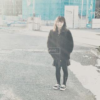 娘の高校卒業式の朝の写真・画像素材[2531633]
