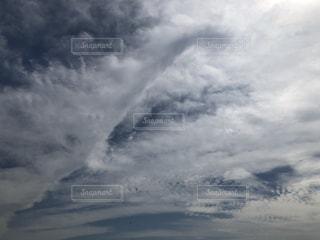 空の雲の群の写真・画像素材[3446466]