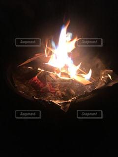 七色の炎の写真・画像素材[2606270]