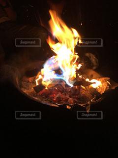 七色の炎の写真・画像素材[2606278]