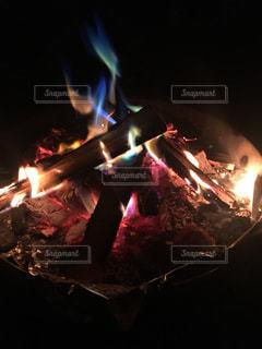 七色の炎の写真・画像素材[2606279]