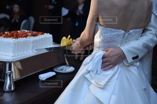 ケーキ入刀 披露宴の写真・画像素材[2534064]