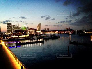夜景の写真・画像素材[2538607]