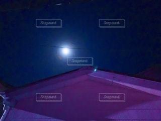 月夜の写真・画像素材[2615045]