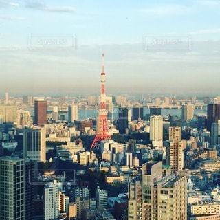 東京タワーの写真・画像素材[98403]