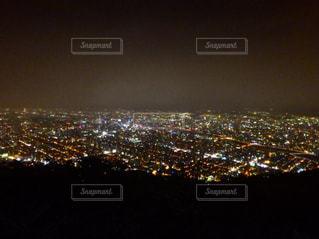 藻岩山からの100万ドルの夜景の写真・画像素材[2541817]