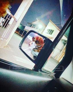 車の窓の眺めの写真・画像素材[2686899]
