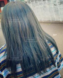 ヘアカラー 髪型 髪の毛 画像 素材 写真の写真・画像素材[4630878]