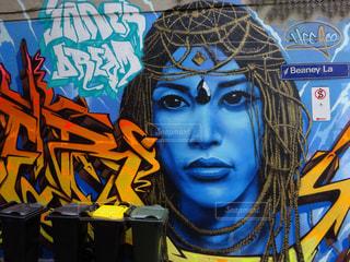 メルボルンのストリートアートの写真・画像素材[2568764]