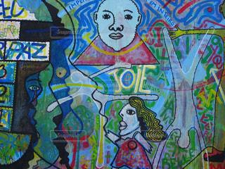 ドイツ・ベルリンの壁の写真・画像素材[2585216]