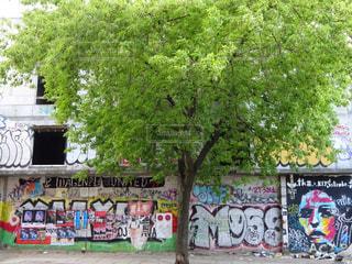 ベルリン・ストリートアートの写真・画像素材[2585318]