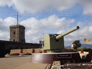 スペイン・バルセロナ【ムンジュイック城】の写真・画像素材[2637590]