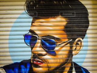 バルセロナ・ストリートアートの写真・画像素材[2665359]