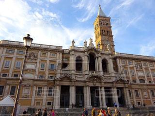 サンタ・マリア・マッジョーレ大聖堂の写真・画像素材[2705317]
