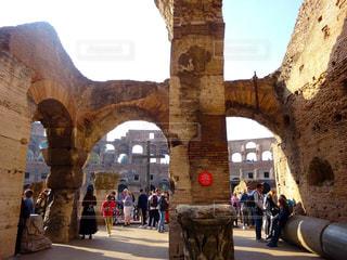 コロッセオ内部の写真・画像素材[2783894]