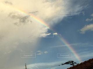 空の虹の写真・画像素材[2545686]
