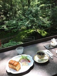 森のカフェの写真・画像素材[3405393]