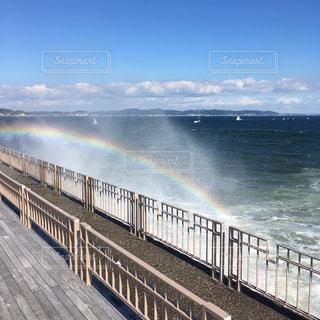 小さな虹の写真・画像素材[2547328]