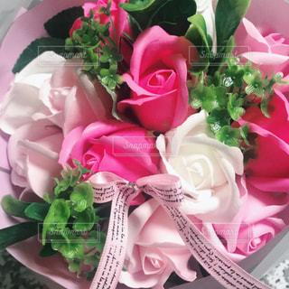 ピンク花束の写真・画像素材[2581146]