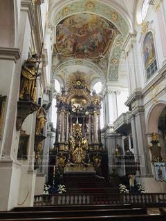 ミュンヘンで一番古い教会の写真・画像素材[2575802]