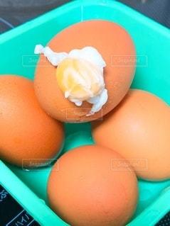 ゆで卵の写真・画像素材[3506743]