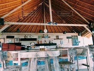 beach cafeの写真・画像素材[2583679]