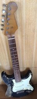 エイジドギターの写真・画像素材[2552947]
