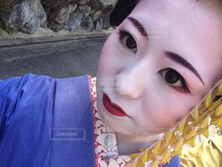 なんちゃって舞妓の写真・画像素材[2588670]