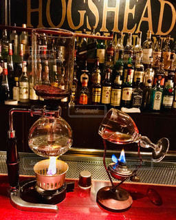 アイリッシュコーヒーの写真・画像素材[2571424]