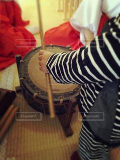 太鼓を叩く子( ˊᵕˋ )の写真・画像素材[2650521]