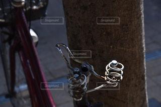 自転車のクローズアップの写真・画像素材[2554135]