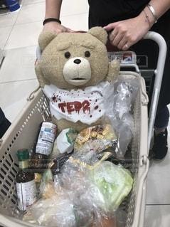 ショッピングカートの写真・画像素材[2555646]